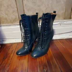 RENVY real leather Heeled booties